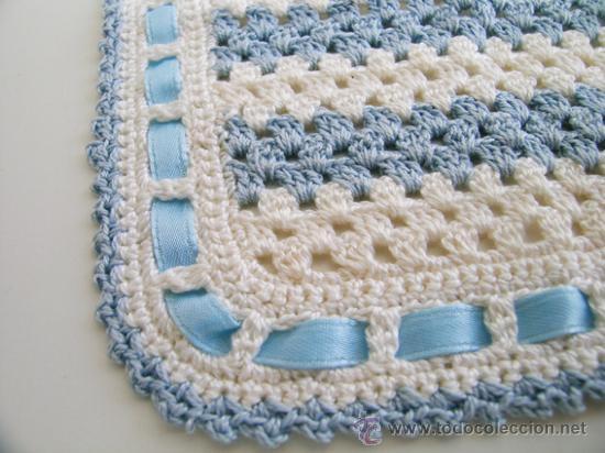 babero para bebé recién nacido ganchillo/croche - Comprar artículos ...