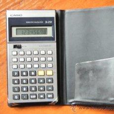 Segunda Mano: CALCULADORA CASIO FX-250 FX 250 FUNCIONANDO PERFECTA. Lote 36975228