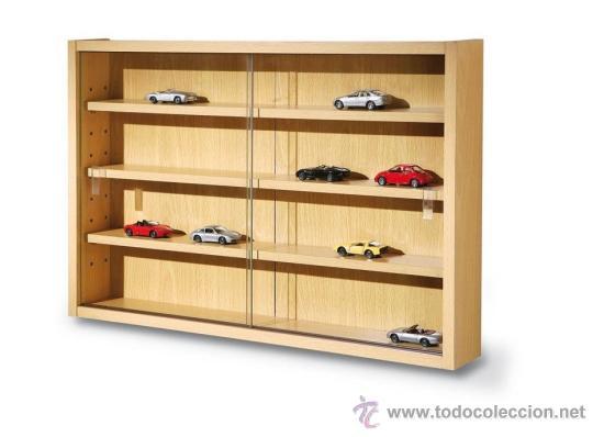 Estanter a vitrina de madera para coches 1 43 y comprar - Estanterias de segunda mano en valencia ...