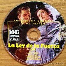 Segunda Mano: CD ROM PELÍCULA CLÁSICA LA LEY DE LA FUERZA EN FORMATO DUAL.. Lote 37123154