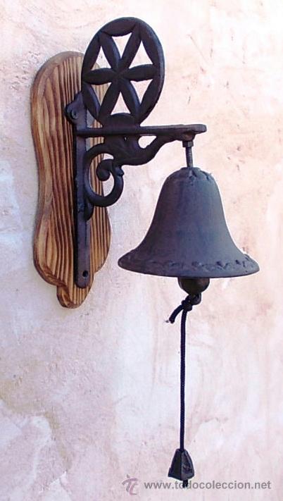 Campana de hierro estrella simbolo celta tim vendido for Puerta hierro segunda mano