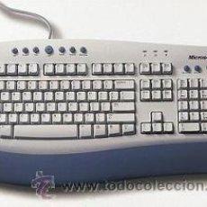 Segunda Mano: TECLADO MICROSOFT INTERNET KEYBOARD PRO. PS2/USB. Lote 189905556