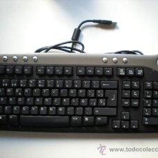 Segunda Mano: TECLADO DELL SK 8135 USB CON DOS PUERTOS USB INTEGRADOS. Lote 37500663