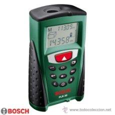 Segunda Mano: MEDIDOR LASER BOSCH PLR-30 MAS REGALO. Lote 37699789