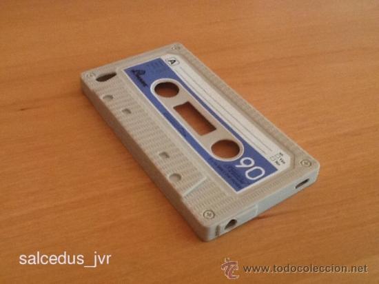 Funda de Goma Plástico para Apple iPod Touch Casette Vintage segunda mano