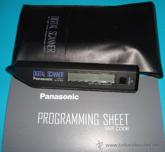 Segunda Mano: Escaner digital PANASONIC, PANASONIC DIGITAL SCANNER / BAR CODE READER VEQ0691 - Foto 1 - 37980228