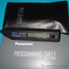 Segunda Mano: ESCANER DIGITAL PANASONIC, PANASONIC DIGITAL SCANNER / BAR CODE READER VEQ0691. Lote 37980228