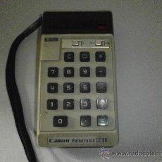 Segunda Mano: CALCULADORA CANON PALMTRONIC LE-80. Lote 38094172