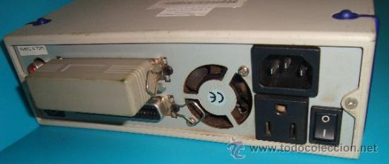 Segunda Mano: LECTOR DE CD 1990 APROXIMADAMENTE, UNIDAD EXTERNA DE CD CON INTERFASE SCSI, FUNCIONA - Foto 4 - 38278848