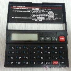 Segunda Mano: DATA BANK PLUS - TEL & MEMO & CLOCK. Lote 38397482