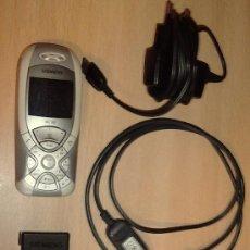 Segunda Mano: ANTIGUO TELEFONO SIEMENS, QUIZÁ EL PRIMER TELÉFONO CON CÁMARA EN SU TAMAÑO, VATERÍA SACADA.. Lote 38939448