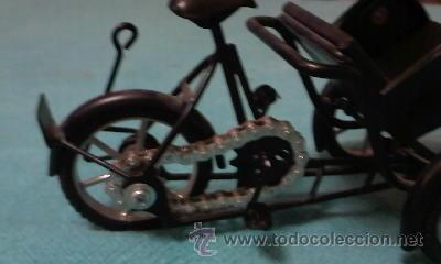 Segunda Mano: Bonita bicitaxi VIETNAM.Funcional, para decorar o jugar. - Foto 3 - 39010252