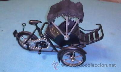 Segunda Mano: Bonita bicitaxi VIETNAM.Funcional, para decorar o jugar. - Foto 4 - 39010252