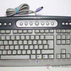 Segunda Mano: TECLADO PARA ORDENADOR PC, HP, CON CLAVIJA PS2, NO USB.. Lote 39040856