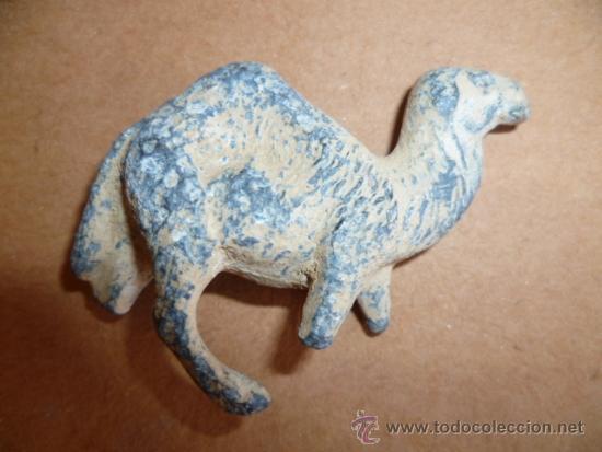 Segunda Mano: Antigua figurita de un camello de plomo. - Foto 2 - 127562506
