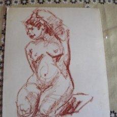 Segunda Mano: DESNUDO FEMENINO CERA (44). Lote 39293473