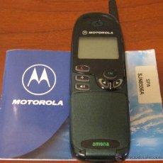 Segunda Mano: TELEFONO ANTIGUO MOVIL MOTOROLA CON SUS INSTRUCCIONES. NO PROBADO. Lote 39470625