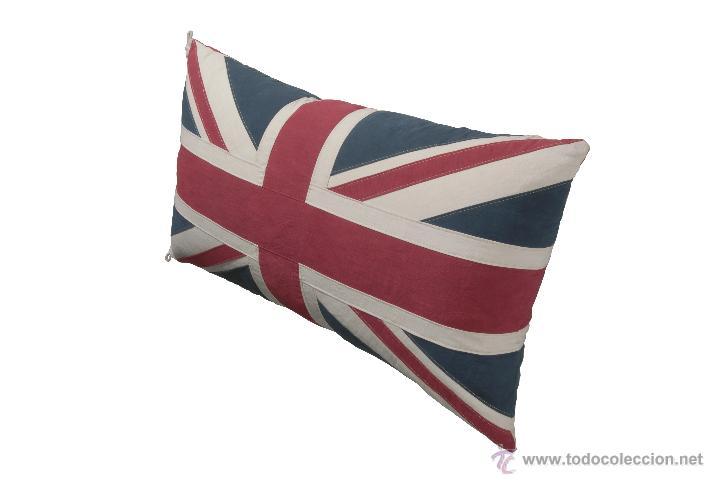 cojin bandera inglesa mediano (puff)   Comprar en todocoleccion