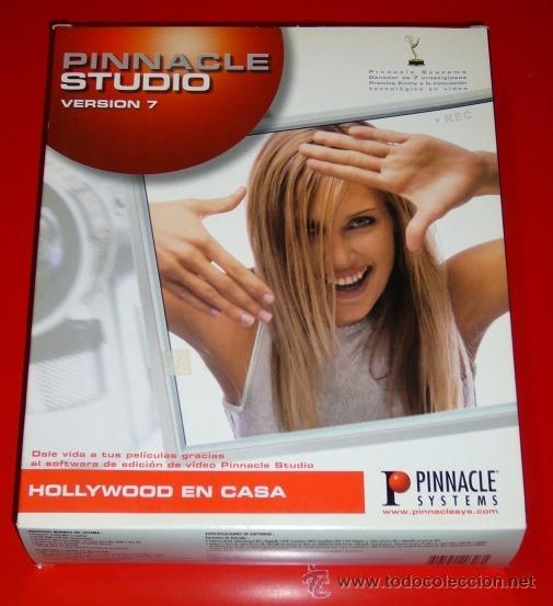PINNACLE STUDIO 7 - EDICION DE VIDEO DIGITAL - PARA PC (Segunda Mano - Artículos de electrónica)