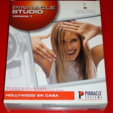 Segunda Mano: PINNACLE STUDIO 7 - EDICION DE VIDEO DIGITAL - PARA PC. Lote 187157781