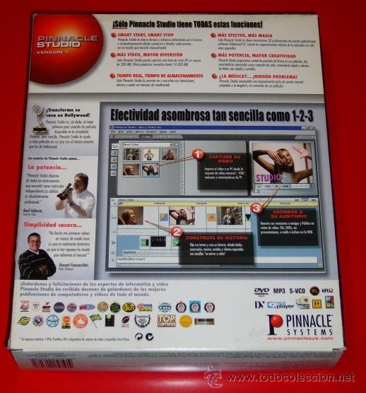 Segunda Mano: PINNACLE STUDIO 7 - EDICION DE VIDEO DIGITAL - PARA PC - Foto 2 - 187157781