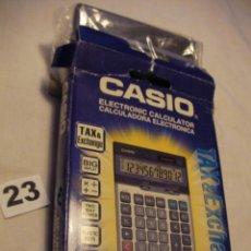 Segunda Mano: ANTIGUA CALCULADORA ELECTRONICA CASIO NUEVA EN SU CAJA SIN USAR. Lote 40630107