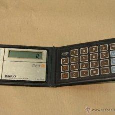Segunda Mano: CALCULADORA CASIO SL80A EXTRAPLANA IMPECABLE. Lote 41379530
