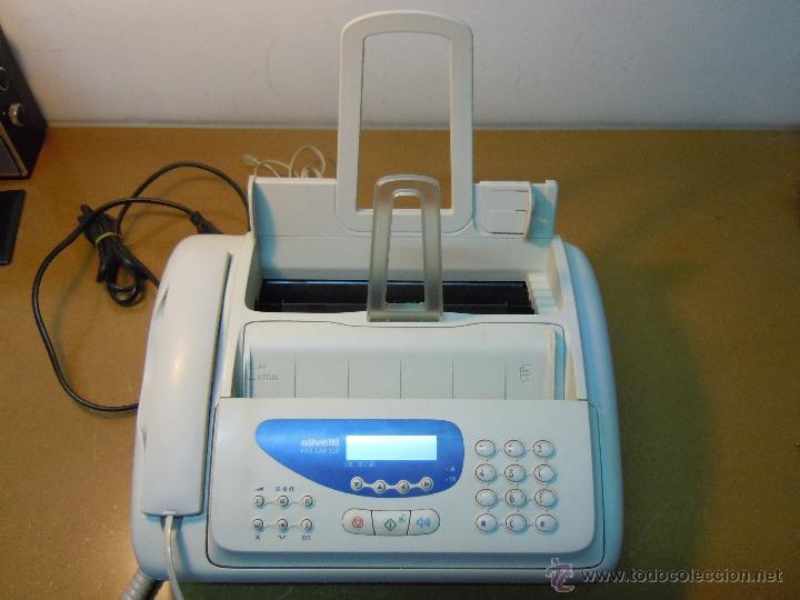 TELEFONO FAX OLIVETTI FAX-LAB 220 EN FUNCIONAMIENTO (Segunda Mano - Artículos de electrónica)