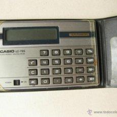 Segunda Mano: CALCULADORA CASIO LC-785. Lote 41587500