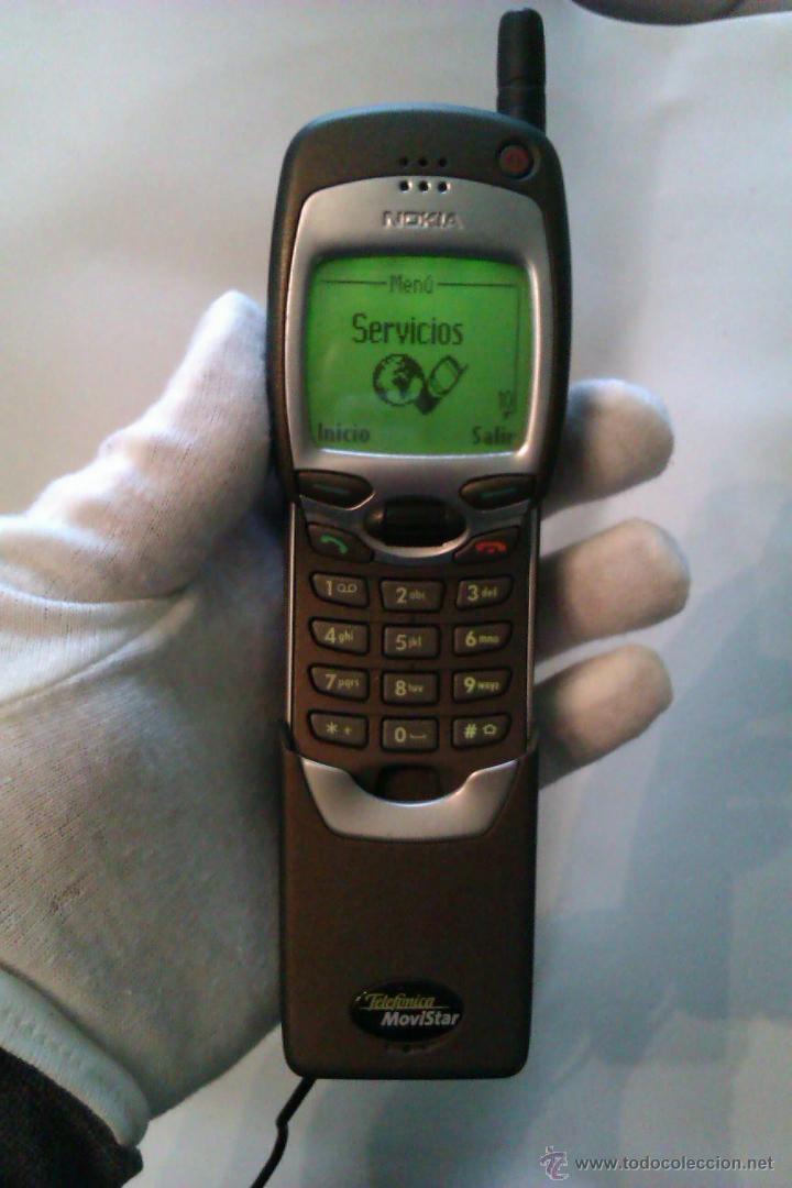 TELEFONO MOVIL NOKIA 7110 / AÑO 1999 / POLEMICO LLAMADO MOVIL MATRIX + CARGADOR / MUY BUEN ESTADO (Segunda Mano - Artículos de electrónica)