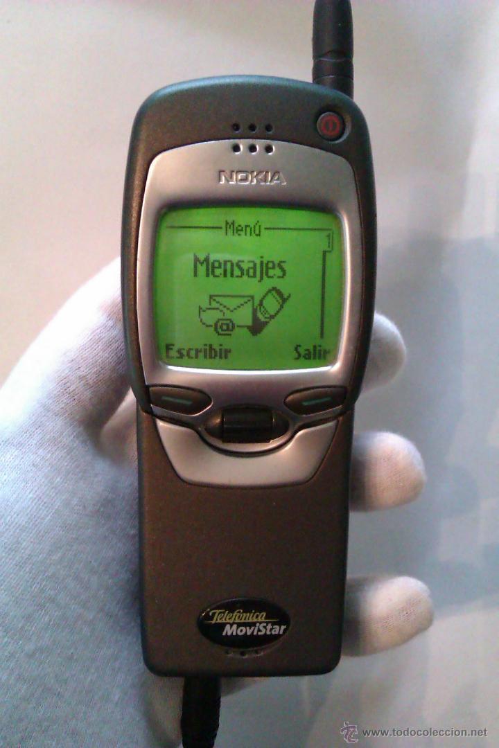 Segunda Mano: TELEFONO MOVIL NOKIA 7110 / AÑO 1999 / POLEMICO LLAMADO MOVIL MATRIX + CARGADOR / MUY BUEN ESTADO - Foto 2 - 41873263