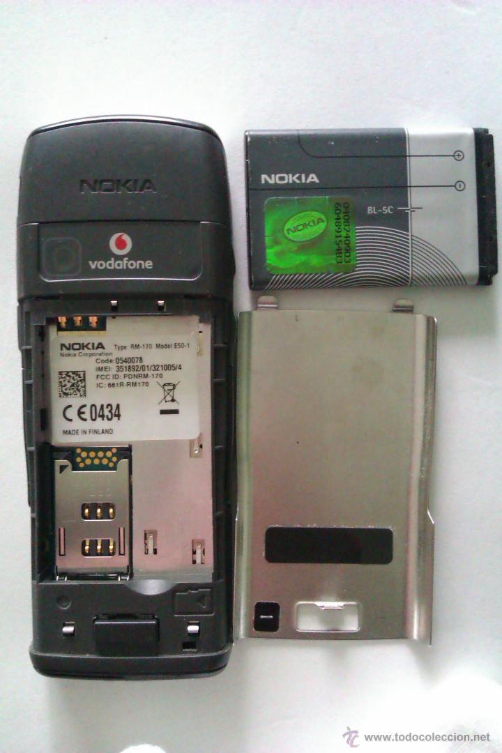 Segunda Mano: TELEFONO MOVIL NOKIA E50 + CARGADOR / MUY BUEN ESTADO DE CONSERVACION COMO NUEVO - Foto 6 - 41873682