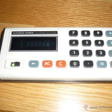 Segunda Mano: CALCULADORA CASIO MINI COLOR BLANCO FUNCIONADO. Lote 42061975