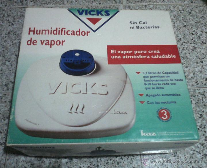 HUMIDIFICADOR DE VAPOR VICKS. (Segunda Mano - Otros)