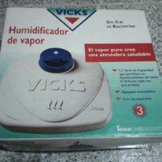 Segunda Mano: HUMIDIFICADOR DE VAPOR VICKS.. Lote 105197266