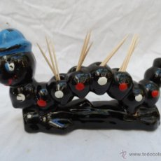 Segunda Mano - palillero vintage super retro gusano oruga - 42415562