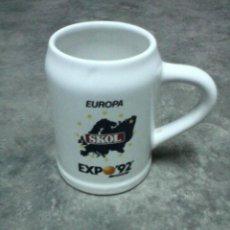 Segunda Mano: JARRA DE CERAMICA DE LA EXPO 92 SEVILLA - 1992 ORIGINAL DE EPOCA.. Lote 42715802