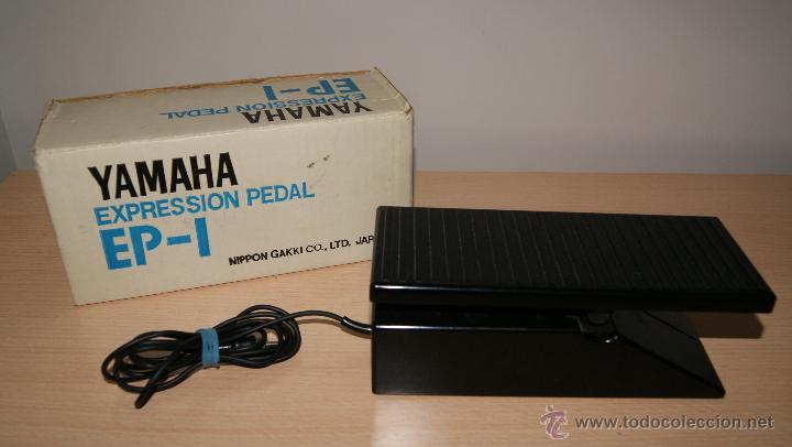 PEDAL YAMAHA EXPRESSION PEDAL EP-1 - JAPAN (Segunda Mano - Artículos de electrónica)