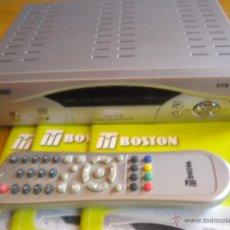 Segunda Mano: RECEPTOR DIGITAL DE SATELITE BOSTON DVB - 4500 NUEVO,NUEVO NUEVO,PRACTICAMENTE SIN ESTRENAR. Lote 176980382