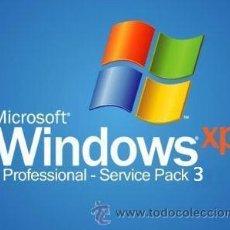 D'Occasion: WINDOWS XP PROFESSIONAL, SERVICE PACK3, EN ESPAÑOL - Nº DE SERIE ORIGINAL. Lote 193233885