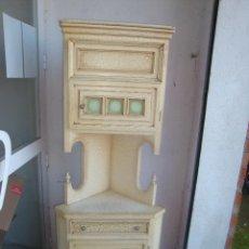 Armario esquinero r stico de madera comprar art culos de - Armario rustico segunda mano ...