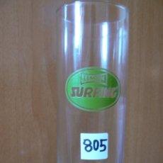Segunda Mano - vaso decorativo tubo la casera surfing limon años 80 med,16x6 - 43852848