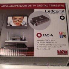 Segunda Mano: MINI ADAPTADOR DE TV DIGITAL TERRESTRE. Lote 71851181
