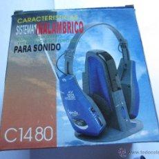 Segunda Mano: SISTEMA INALAMBRICO PARA SONIDO C-1480. Lote 43909753