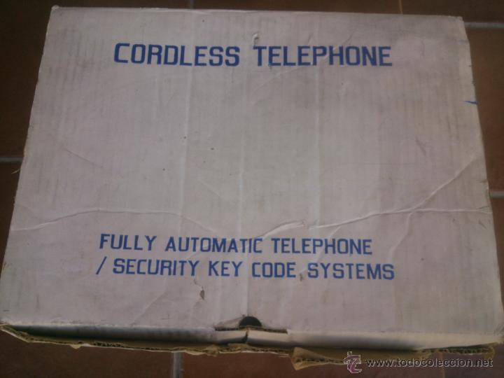 Segunda Mano: ANTIGUO TELEFONO INALAMBRICO CORDLESS TELEPHONE - Foto 6 - 44092624