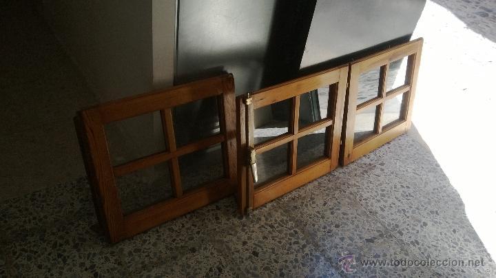 Ventanas de madera comprar art culos de segunda mano de - Garajes de madera de segunda mano ...
