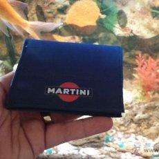 Segunda Mano: ANTIGUA CARTERA BILLETERA DE PROPAGANDA MARTINI. Lote 44245751