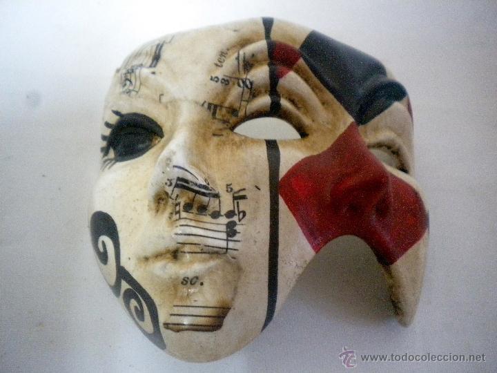 Original Mascara Tipo Veneciana Con Doble Cara Comprar