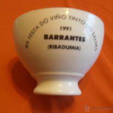 Segunda Mano: XIX FESTA DO VIÑO TINTO DO SALNES, 1991, BARRANTES, RIBADUMIA. Lote 44306779
