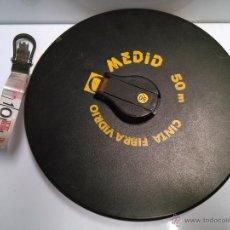 Seconda Mano: CINTA FIBRA DE VIDRIO CON GARRA EN LA ANILLA. Lote 44817663